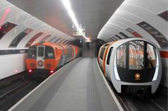 An image of the new driverless train proposed as part of the Glasgow Subway modernisation programme. Glasgow Subway, London Underground Train, Paisley Scotland, Compare And Contrast, Public Transport, Manila, Architecture, Transportation, Construction
