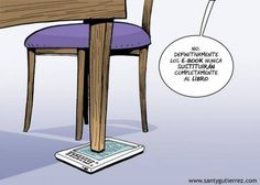El ebook para calzar una mesa? WTF?