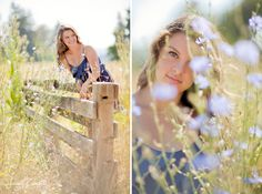 country senior portrait ideas | McKenna won even MORE of my heart when I asked her if I could get a ...