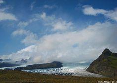 Glacial foreland