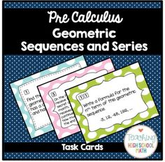 WizerMe Blended Worksheet Arithmetic  Geometric Sequences