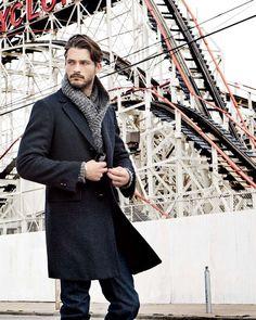 Ben Hill... I just LOVE coats on men