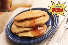 Anna Sward of Protein Pow LOVES Wholesome Chow's Organic Gluten Free Hi-Protein Pancake Mix! http://www.proteinpow.com/2013/09/protein-pancakes-wholesome-chow-review.html