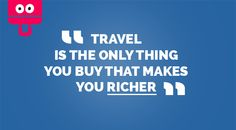 #travel #quotes #quote #travelquote #holidays #porterfree