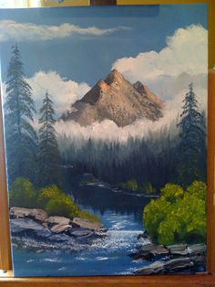 In the Style of Bob Ross