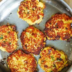 Jump to Recipe Print RecipeBacon Spaghetti Squash Fritters with Parmesan – need I say more? Ever wondered how to cook spaghetti squash? Make this easy Bacon Spaghetti Squash Fritters recipe with Parmesan!  These little spaghetti squash cakes are crazy good, easy to make, and a great snack! This is one of my most favorite...Read More