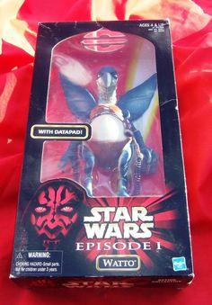 Star Wars Action Figure Episode I Watto with Datapad Action Figure MINT #Hasbro