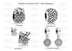 Pandora - new charms for summer 2014. I want the windmill! Reminds me of Amsterdam. #PANDORAsummercontest