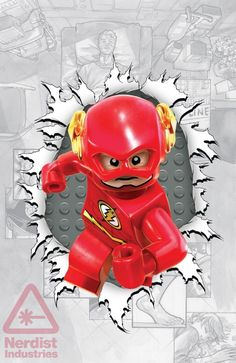 Flash #36 LEGO variant cover - artist? *