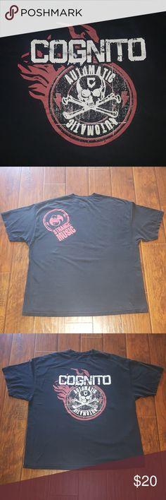 Strange Music Tech N9ne Cognito tee 3x Strange Music Tech N9ne Cognito tee 3x. Well loved shirt with life still left! Strange Music Shirts Tees - Short Sleeve