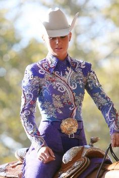 Pretty in Purple - New statement color - watch for more shades of purple - looks great with all horses no matter their color!