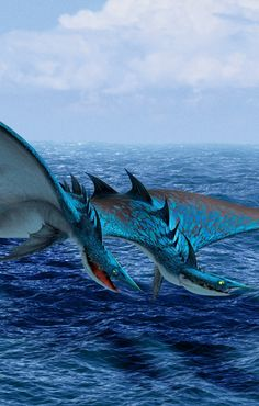 """Seashocker is a tidal class dragon first featured in the 2014 film """"How to Train Your Dragon Httyd Dragons, Dreamworks Dragons, Cute Dragons, Water Dragon, Dragon 2, Fantasy Dragon, How To Train Your, How Train Your Dragon, Train Dragon"""