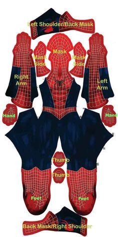 diy- Spiderman costume