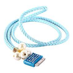 "Søkeresultat for: ""bling wrist strap for ipod iphone 4 lyse bla"" Ipod, Beaded Bracelets, Bling, Accessories, Jewelry, Jewel, Jewels, Pearl Bracelets, Schmuck"