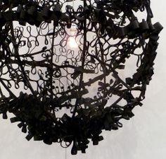 ribbon lamp