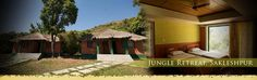 Jungle Retreat - Trailroot Rejuvenate yourself at an exotic location with no contact with outside world. A perfect date with nature, deep inside jungle with mountain views and sunset point.