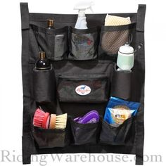 Professional's Choice Std Trailer Door Caddy/Organizer Fly Spray, Air Ride, Organization, Doors, Horse Stuff, Product Description, Trailers, Christmas Crafts, Awesome