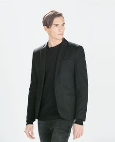 Image 2 of BASIC BLAZER from Zara