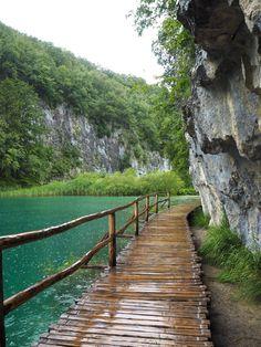 Plitvice Lakes Nationalpark, Croatia