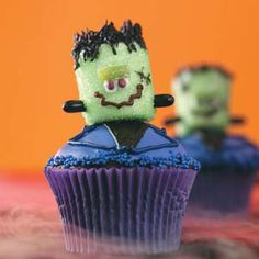Adorable halloween cupcakes!