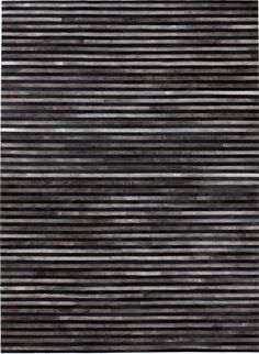 Experience the feeling of exclusive style and tradition with a beautifully crafted leather rug with a touch of nordic character designed for modern homes. This rug is carefully handcrafted by master artisans using the finest genuine leather, which is cut Black White Rug, Nordic Living, Striped Rug, Kare Design, Types Of Rugs, Cow Hide Rug, Nordic Design, Danish Design, Buying Wholesale