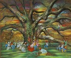"""""""Voodoo Under the Tree"""" by Noel Rockmore"""