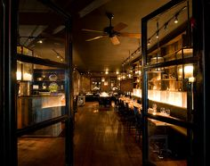 Marc Forgione Restaurant Nyc Elle Decor