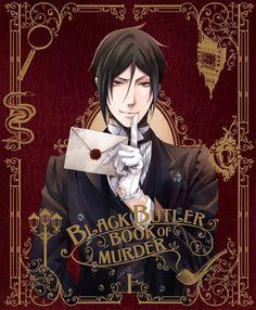 Kuroshitsuji ~Book of Murder~ DVD | Sebastian