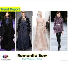Romantic Bow #Fashion Trend for Fall Winter 2014 #Trends #Fall2014 #FW2014