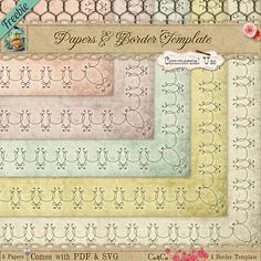 1000+ images about Brushes, Fonts & Gifs on Pinterest | Doodle frames ...