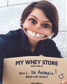 Não se nota nada que adoro quando estas caixas chegam pois n?!   A minha loja favorita de suplementos adoro os sabores e a rapidez com que enviam os produtos  Obrigada @mws.pt ( # @mickaelareis)  #MyWheyStore #health #fitness #fit #fitnessmodel #fitnessaddict #fitspo #workout #bodybuilding #cardio #gym #train #training #photooftheday #health #healthy #instahealth #healthychoices #active #strong #motivation #instagood #determination #lifestyle #diet #getfit #cleaneating #eatclean #exercise