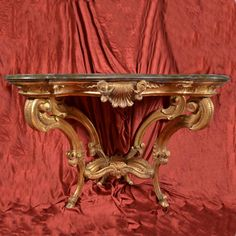 Antique Console Table, Antique Furniture, Console Tables, Wood Furniture, Consoles, Tuscan Decorating, Rococo Style, Antiques For Sale, Old Paintings