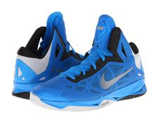 low priced 3542b 68f68 Nike HyperChaos blue black silver Hoe, Black Silver, Choices