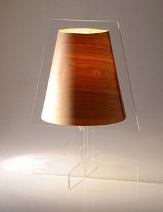 arborem design acrylic, light, gravity,,, minimo, transparent silhouette shape