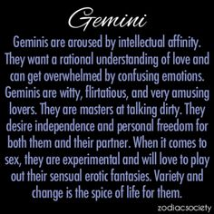 Gemini....sounds bout right :p