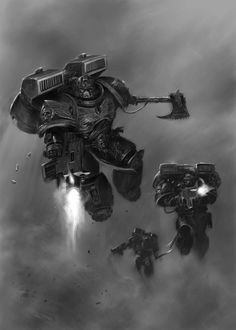 Blood Angels death from above!