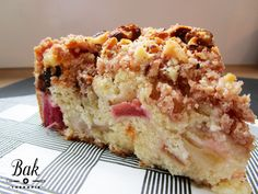 Rabarber crumble cake recept - baktherapie.nl
