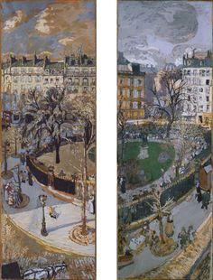 Collection Online | Édouard Vuillard. Place Vintimille. 1908–10 - Guggenheim Museum