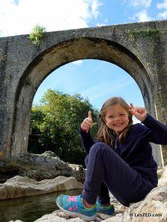 Un sourire au bord de l'Ardèche