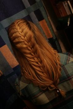 Tartan and red Celtic Braids <3