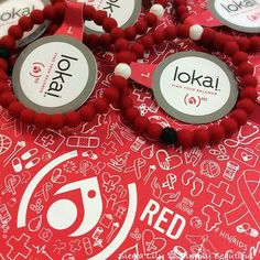 HIV awareness Lokai braclet