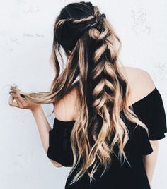 giant braided hairstyle