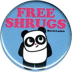 David & Goliath Free Shrugs