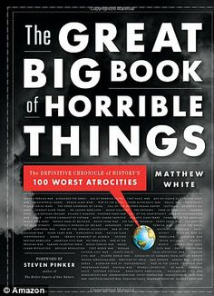 The Great Big Book of Horrible Things: The Definitive Chronicle of History's 100 Worst Attrocities by Matthew White
