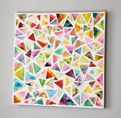 INSPIRÁCIÓK.HU Kreatív lakberendezési blog, dekoráció ötletek, lakberendező tanácsok: Kreatív otthon: vidám kép a falra