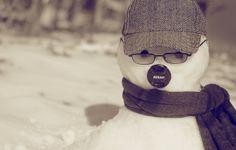 Nikon snowman :P