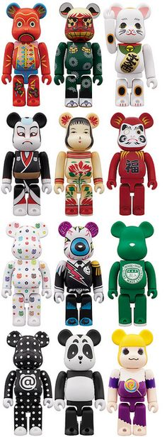 another love, BEARBRICK!