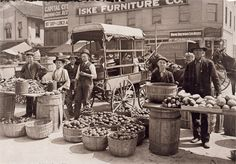 Indianapolis Market: 1908