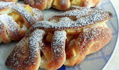 Kysnuté mrežované koláče s jablkami