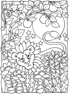welcome to dover publications sun moon and stars designs to color color drawfree coloring pagescoloring